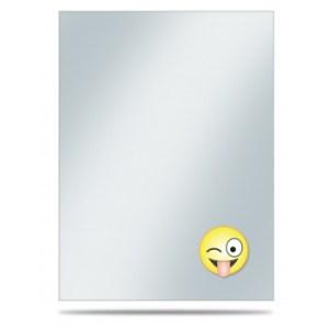 UP - Printed Deck Protector Sleeve Covers (50 Sleeves) - Emoji Silly