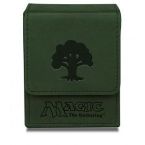 UP - Deck Box Flip - Magic Mana - Mat Green