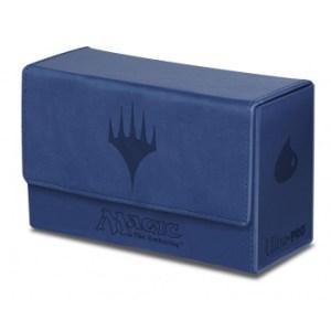 UP - Dual Flip Deck Box - Magic Mana - Blue (New)