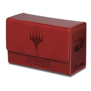 UP - Dual Flip Deck Box - Magic Mana - Red (New)
