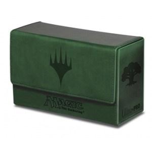 UP - Dual Flip Deck Box - Magic Mana - Green (New)