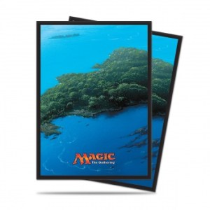 UP - Sleeves Standard - Magic: The Gathering - Mana 5 Island (80 Sleeves)