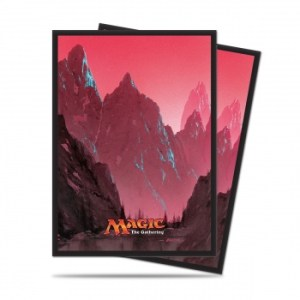 UP - Sleeves Standard - Magic: The Gathering - Mana 5 Mountain (80 Sleeves)