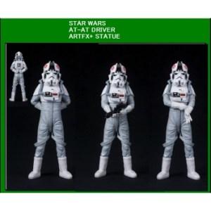 Star Wars ARTFX+ Series AT-AT DRIVER Statue 18cm