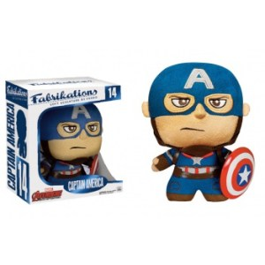 Funko Fabrikations Marvel Avengers Age Of Ultron - CAPTAIN AMERICA Plush Action Figure 14cm