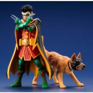 DC Universe Super Sons - Robin & Ace The Bat-Hound ARTFX+ 1/10 Scale 2-Pack Statue