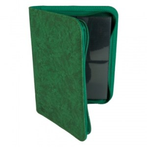 4-Pocket Premium Zip-Album - Green