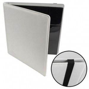 12-Pocket Premium Album - White