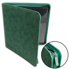 12-Pocket Premium Zip-Album - Green