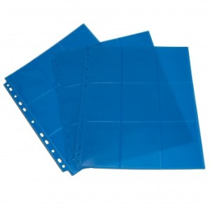 18-Pocket Pages - Blue - Sideloading (50 pcs)