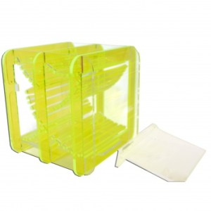 - Dice Container - Fluorescent Green