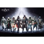 Juliste - Assassins Creed Characters