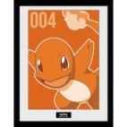 GBeye Collector Print - Pokemon Charmander Mono