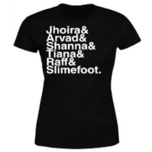 Magic The Gathering Weatherlight Crew Womens T-Shirt - Black - L