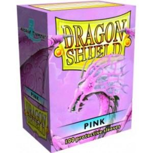 Dragon Shield Standard Sleeves - Pink (100 Sleeves)