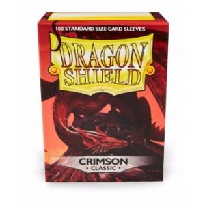 Dragon Shield Standard Sleeves - Crimson (100 Sleeves)