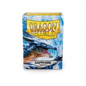 Dragon Shield Matte Sleeves - Sapphire (100 Sleeves)