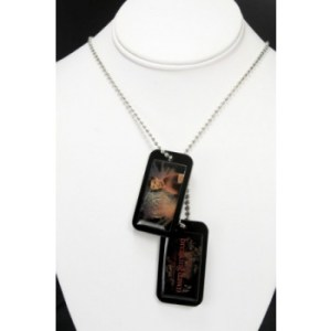 Twilight Breaking Dawn Epoxy Dog Tags Jacob with Necklace