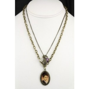 Twilight Breaking Dawn Edward Double Chain Necklace