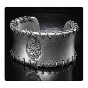 Twilight Breaking Dawn Part 2 Wire Cuff Armband Cullen Crest