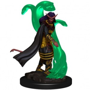 D&D Icons of the Realms Premium Figures: Tiefling Female Sorcerer (6 Units)