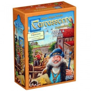 Carcassonne Exp 5: Abbey & Mayor (New Version)