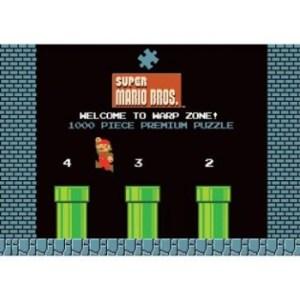 Super Mario 1-2 Welcome to Warp Level Premium Puzzle 1000 pc