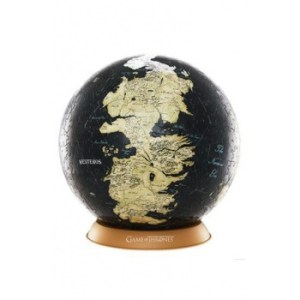 4D Cityscape - Game Of Thrones / The Unknown World 3D Globe (540 Pcs)