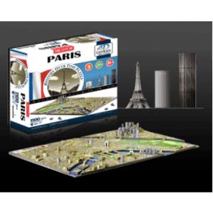 4D Cityscape - Paris Puzzle
