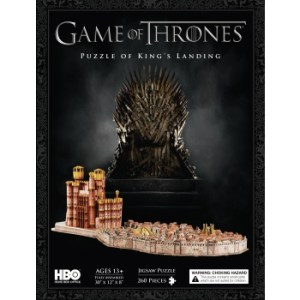 4D Cityscape - Game Of Thrones / Kings Landing 3D Puzzle