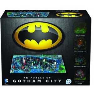 4D Cityscape - Batman Gotham City
