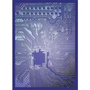 Legion - Standard Sleeves - Circuit - Blue (50 Sleeves)