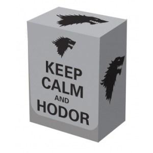 Legion - Deckbox - Keep Calm & Hodor