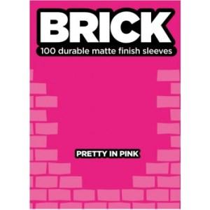 Legion - Brick Sleeves - Pretty in Pink (100 Sleeves)