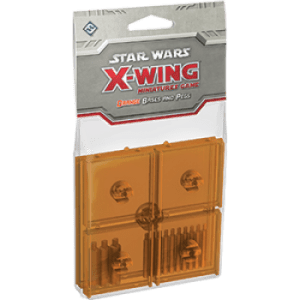 FFG - Star Wars X-Wing: Orange Bases and Pegs Expansion Pack