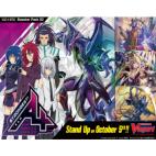 Cardfight!! Vanguard V - Strongest! Team AL4 Booster Display (16 Packs)