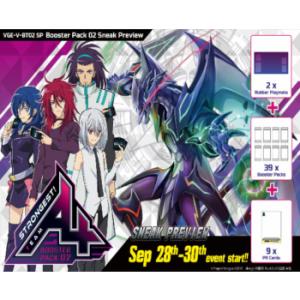 Cardfight!! Vanguard V - Strongest! Team AL4 Sneak Preview Kit