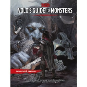 Dungeons & Dragons RPG - Volos Guide to Monsters