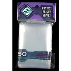 FFG Supply Clear Sleeves - Standard European Board Game (50 Sleeves)