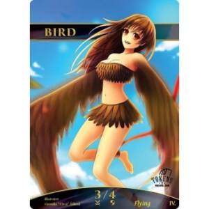 Tokens for MTG - Bird Token (10 pcs)