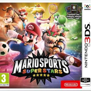 3DS: Mario Sports Superstars + Amiibo Card