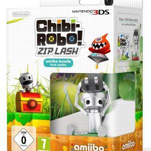 3DS: Chibi Robo!: Zip Lash + Amiibo bundle