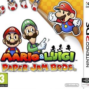 3DS: Mario & Luigi: Paper Jam Bros