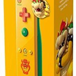 Wii U: Nintendo Remote Plus ** BOWSER ORANGE/GREEN ** (Wii & Wii-U)