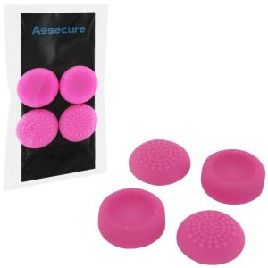 PS4: PS4 Silicone Thumb Grips: Concave & Convex - Pink (Assecure)