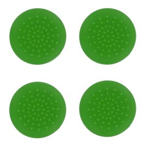 PS4: PS4 TPU Thumb Grips - Green (Assecure)