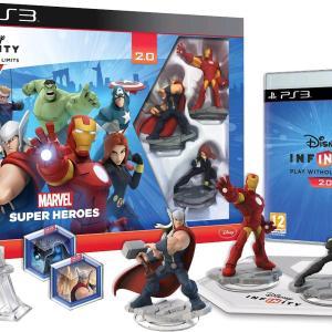PS3: Disney Infinity 2.0 Marvel Super Heroes Starter Pack