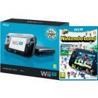 Wii U: Nintendo Wii U konsoli Premium Inc. Nintendo Land (Musta) (Laatikossa/Complete/Käytetty/Toimiva)