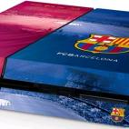 PS4: Official Barcelona FC - PlayStation 4 Konsoli-skin