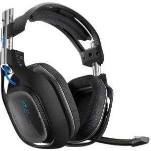 ASTRO Gaming A50 PS4 Wireless Headset 7.1 (Musta) (Käytetty/BOXED/MISSING USB CABLE)